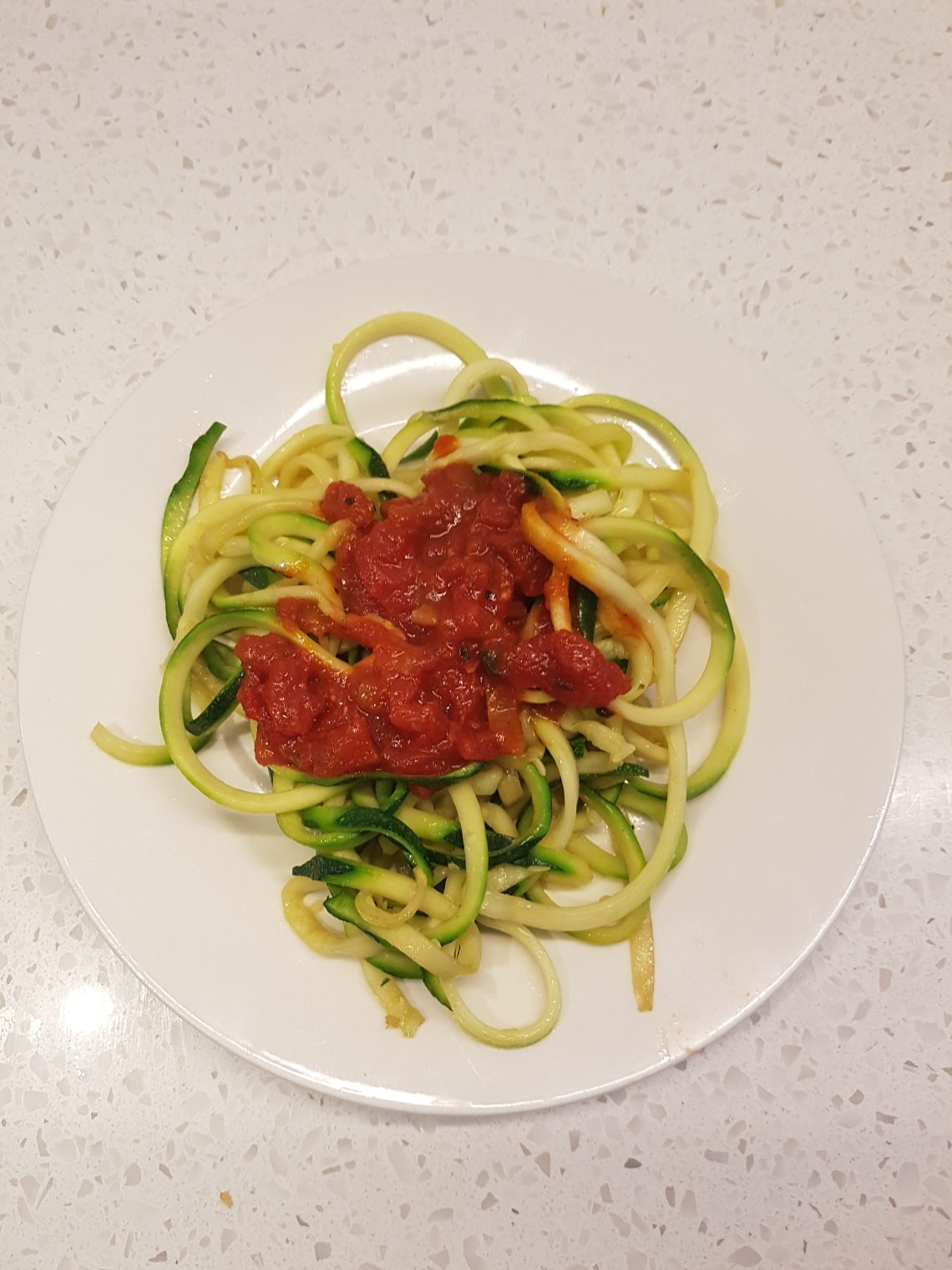 Stonebarn Truffle Pasta Sauce with Zoodles