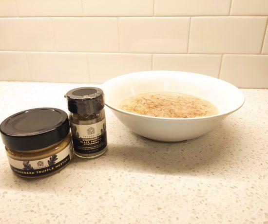 Truffle Mustard & Leek Soup